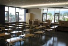 고등학교 교실