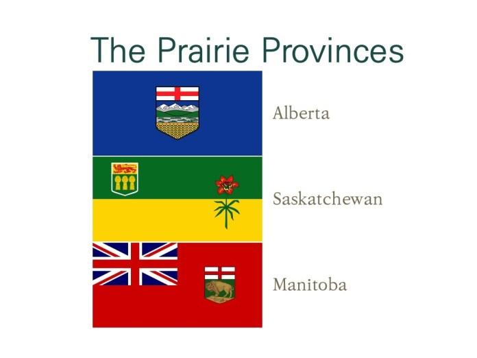 [지리] 프레이리 주들(The Prairie Provinces)