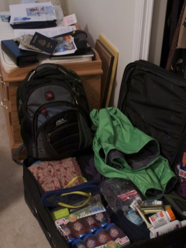 packing for Bolivia