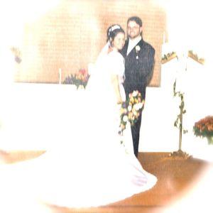 Scott and Joy's wedding photo