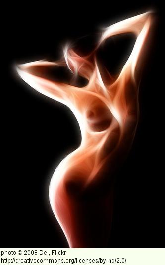 female figure naked