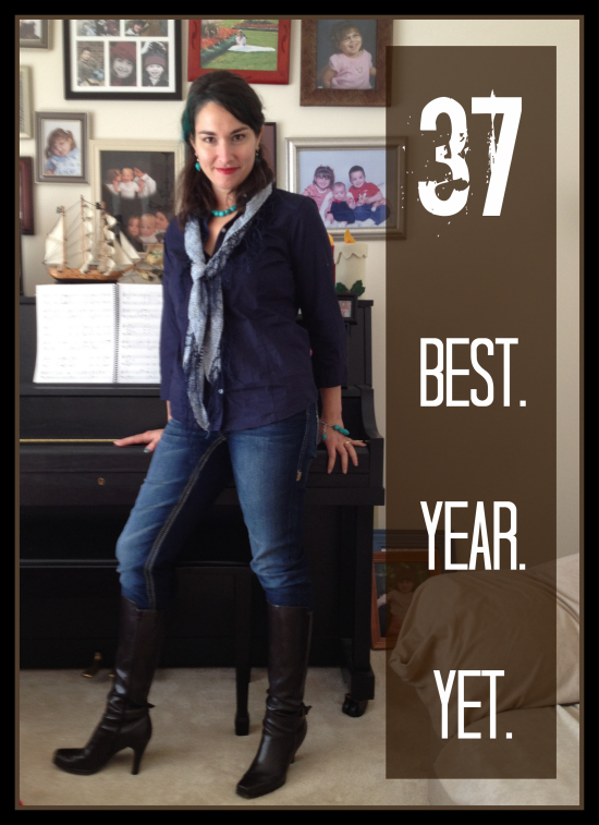 37 will be the best year yet