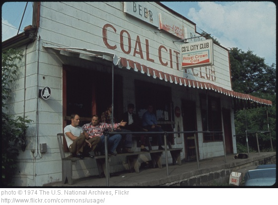 Photo of the Coal City Club in West Virginia