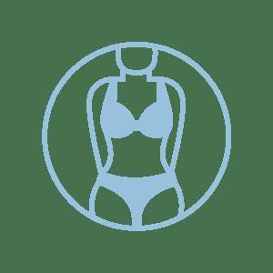 clipart of bikini body