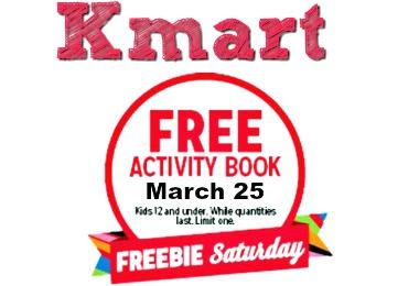 Kmart Free Item Freebie Saturday