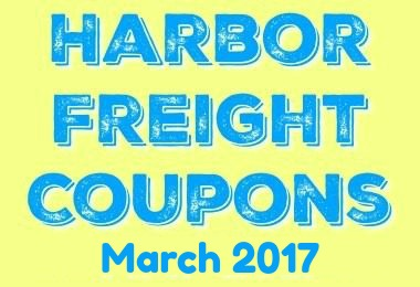 March 2017 Harbor Freight Coupons