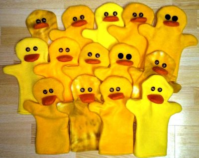 How to Make Hand Puppets from fleece