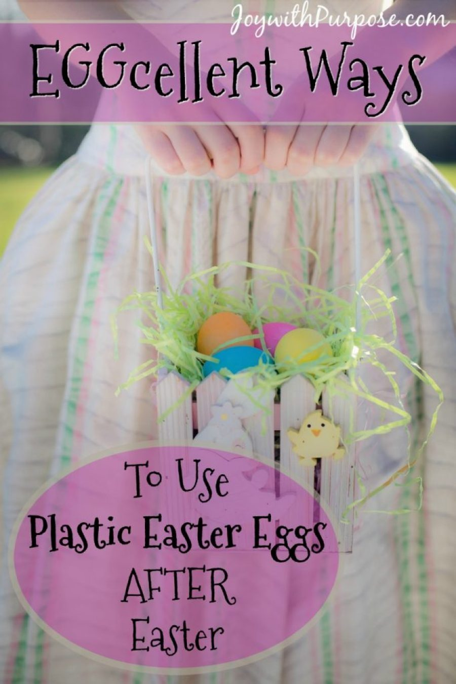 3 EGGcellent Ways to Use Plastic Easter Eggs
