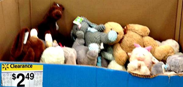 Walmart Easter Clearance Stuffed Animals