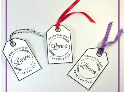 free printable tags that you can add to your handmade items