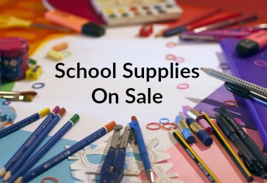 School Supplies Sales for July 2017