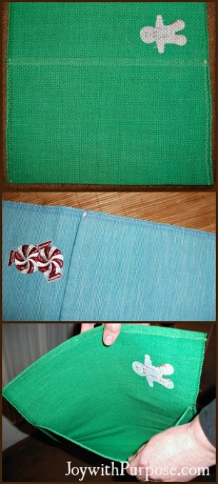 upcycle placemats sewing tips