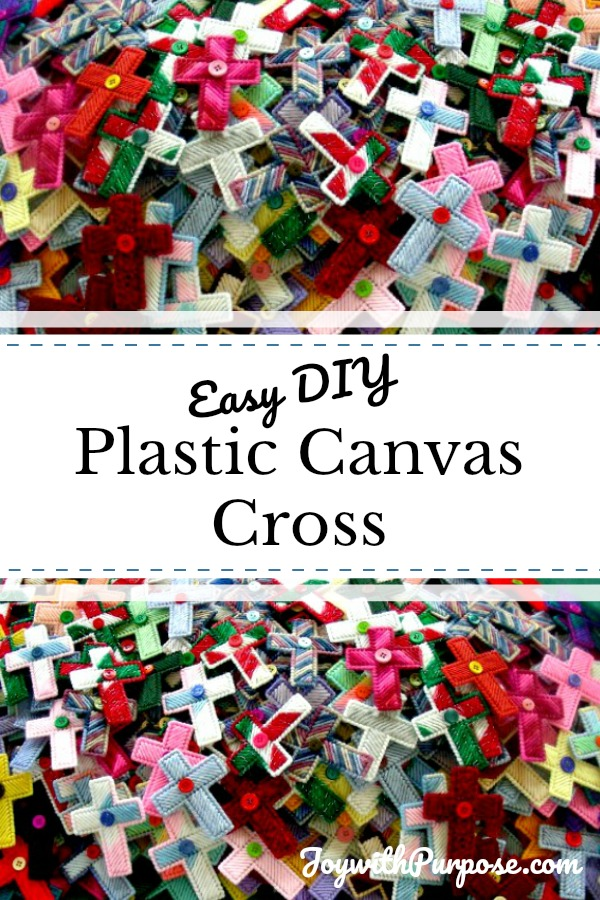 graphic relating to Free Printable Plastic Canvas Tissue Box Patterns called Plastic Canvas Cross Basic Do it yourself - Pleasure with Reason