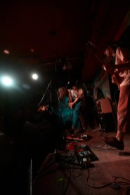 Mangö performing at Roadkill Records Presents at the Shackelwell Arms