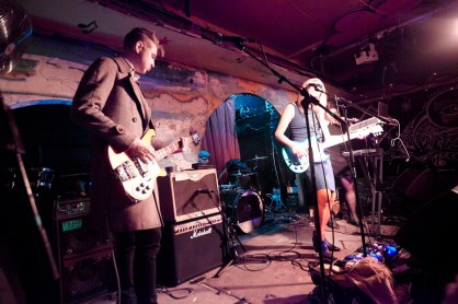 No Me Comen performing at Roadkill Records Presents at the Shackelwell Arms