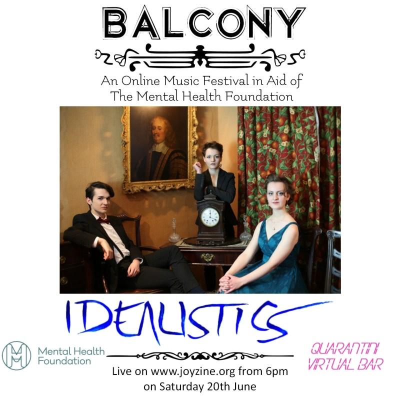 idealistics balcony festival for mental health foundation