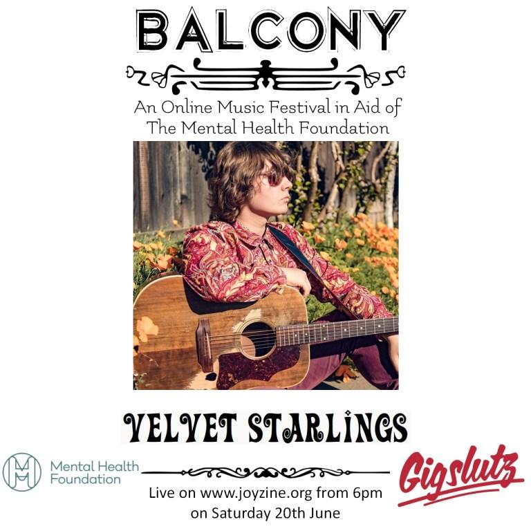 velvet starling balcony festival for mental health foundation