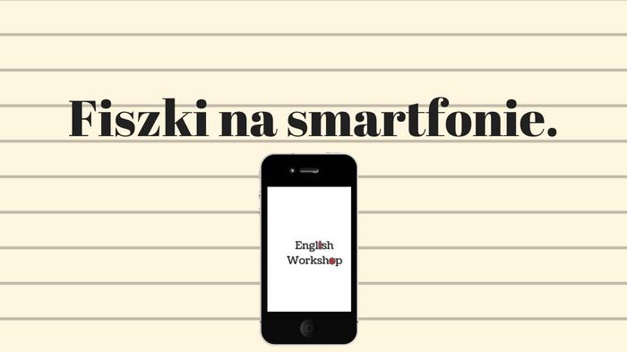 Aplikacja do fiszek na smartfona.