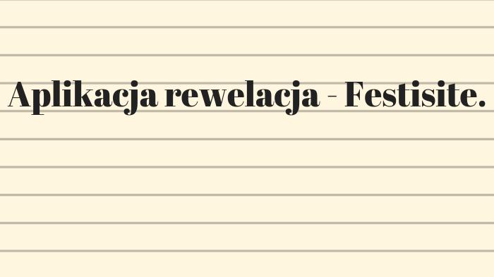 Aplikacja rewelacja – Festisite.
