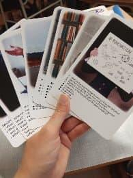 Let's Talk - różne karty