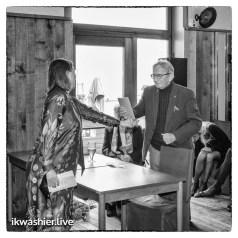 Jozef Deleu ontvang de Arkprijs van het Vrije Woord - Foto: ikwashier.live