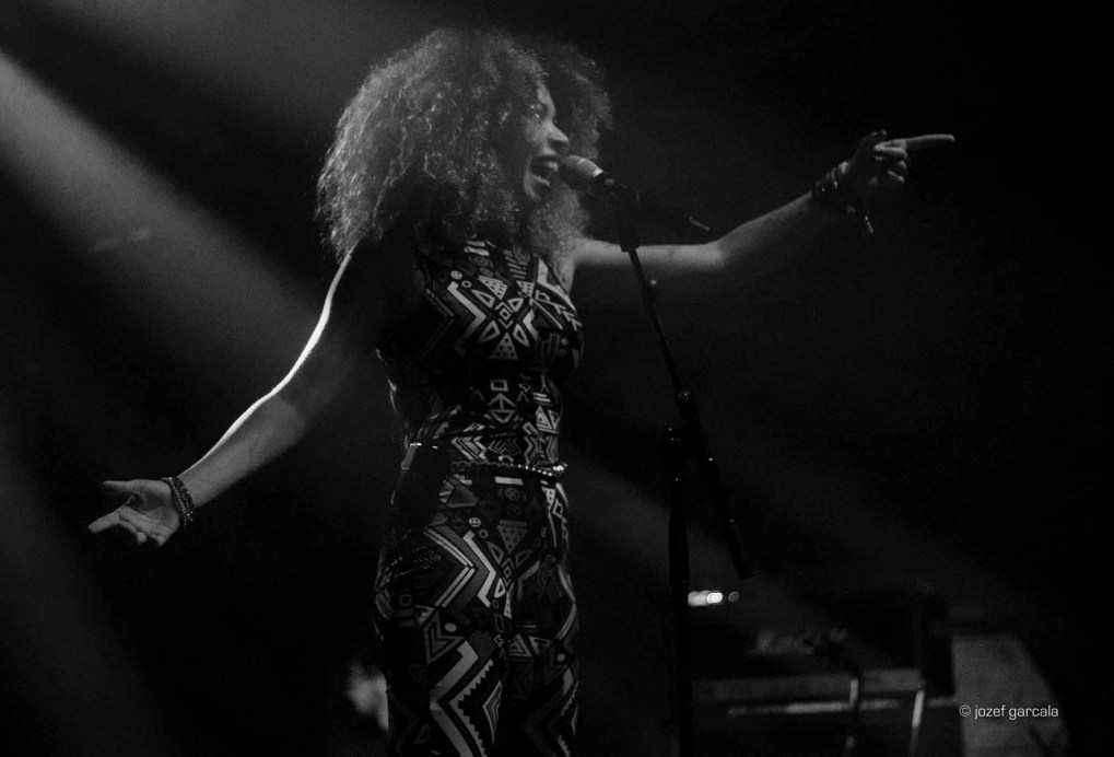 Rio de Janeiro's singer Flavia Coelho performing in London