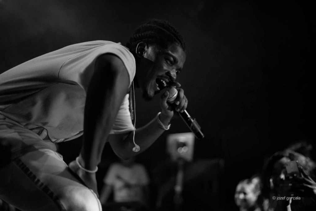 American rapper Smino onstage at Village Underground, London, UK