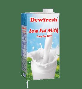 Dewfresh UHT Milk 1l x 6
