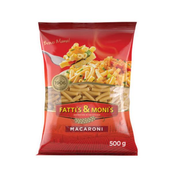 Fatti's and Moni's Macaroni 500g x 20