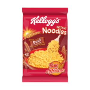 kelloggs Instant Noodles Beef Flavour 70g X 40