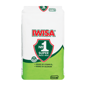 Iwisa Maize Meal 1kg x 10