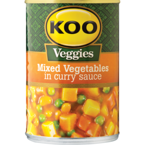 Koo Mixed Veg in Curry Sauce 420g