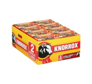 Knorrox Beef Stock Cubes 2s x 40