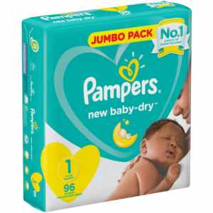 Pampers Active JP New Born 96s