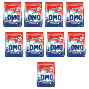 Omo Hand Washing Powder 1kg x 9