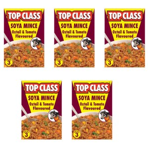Top Class Soya Mince Oxtail and Tomato 200g x 5
