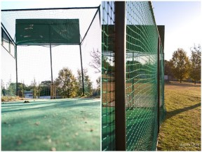 Cricket nets in public parkDunkeld West Suburb in Johannesburg