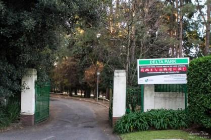 delta Park entrance