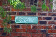 Borehole water sign