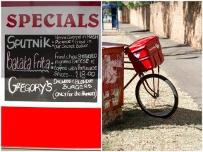 Post Office Bicycle