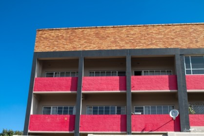 Red Flat Building