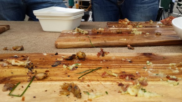 Barely a crumb was left behind at Team Smoking Hot's table.