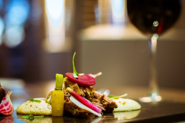 Eight hour lamb with pomme puree & seasonal vegetables 3 Pic by Francisco Nwamba