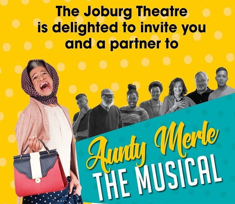 Marc Lottering's beloved Aunty Merle Abrahams sashays on The Mandela Stage at Joburg Theatre #MerleInJozi @marclottering @Joburgtheatre #FrontRowWithJoziStyle