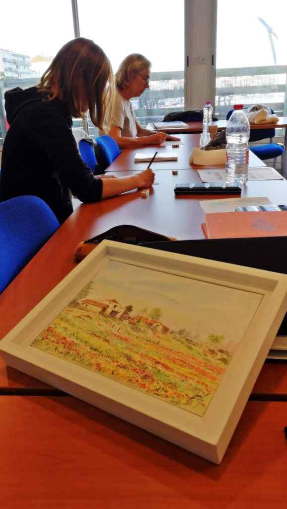 Atelier et cours de dessin et aquarelle - Les Sables d'Olonne JP Duboil