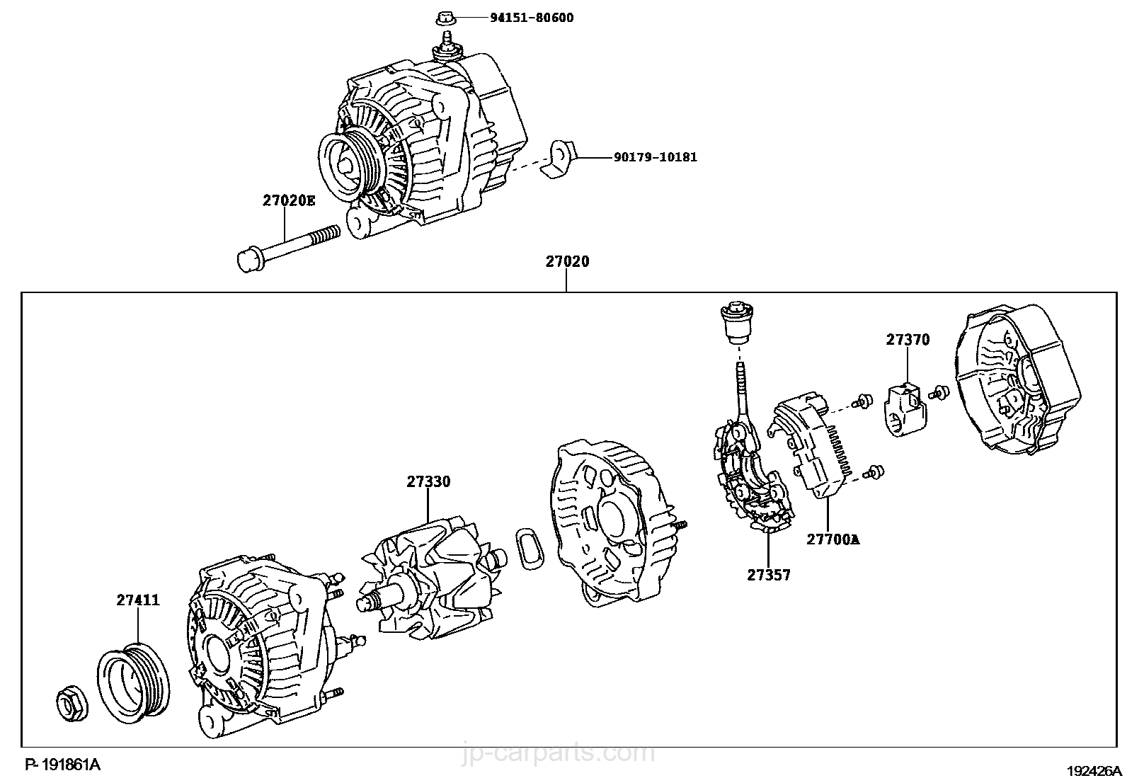 12si Alternator Part Numbers