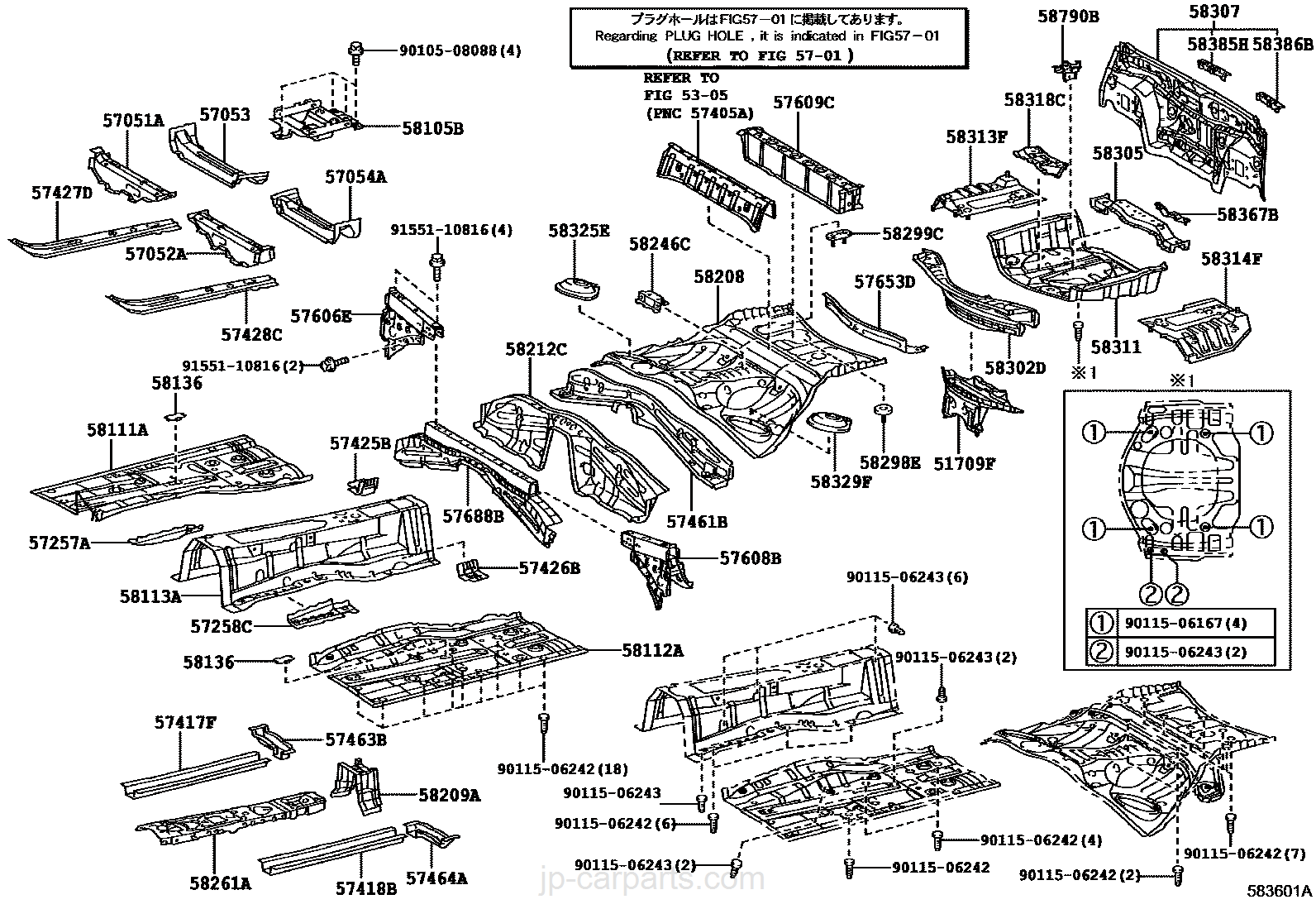 Automobile Parts Schematics