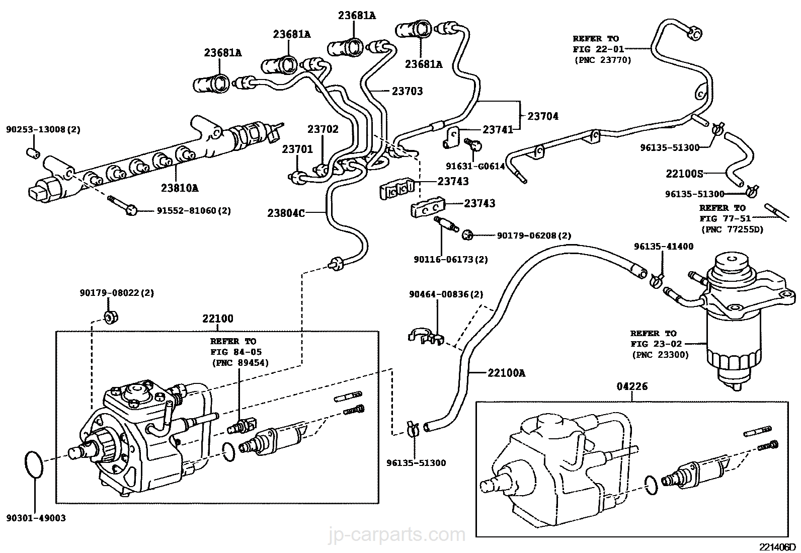 Injection Pump Assembly Toyota