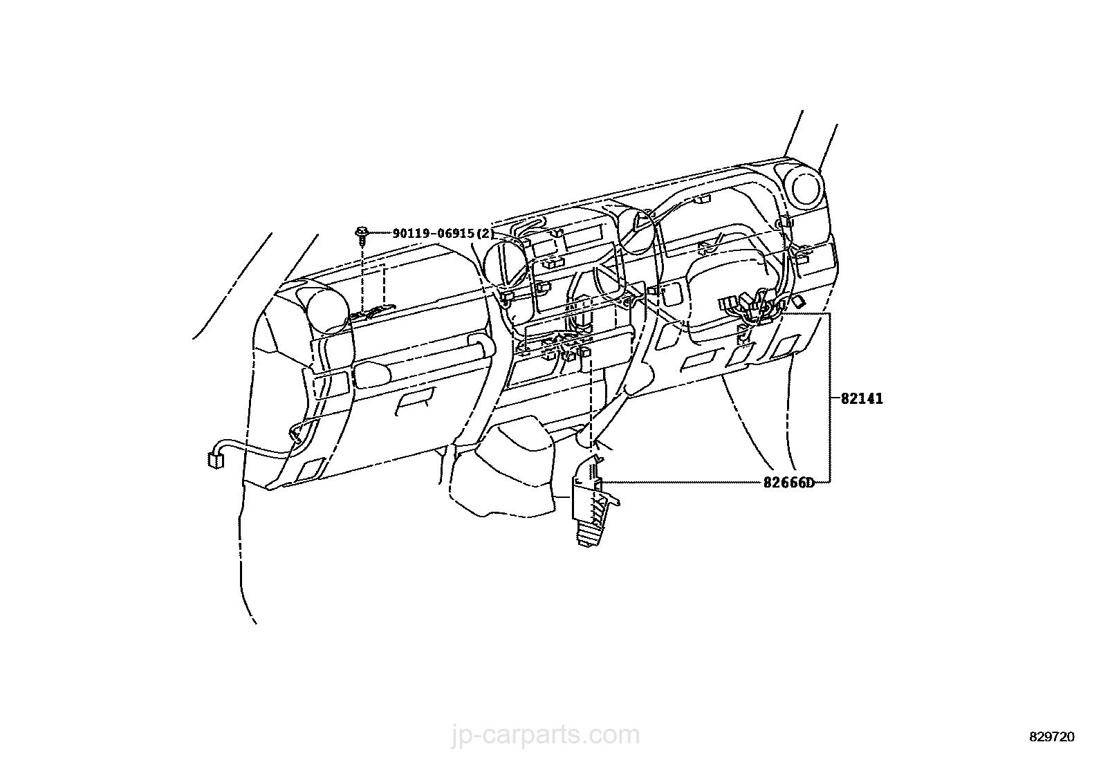 Wiring Amp Clamp Toyota