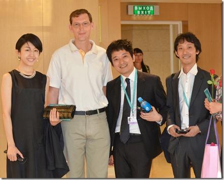 С японскими кинематографистами